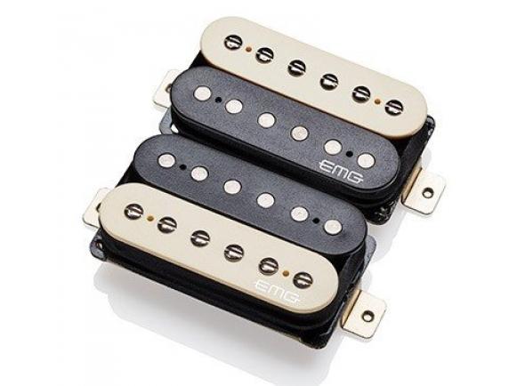Captadores para guitarra elétrica EMG Super 77 Set Zebra