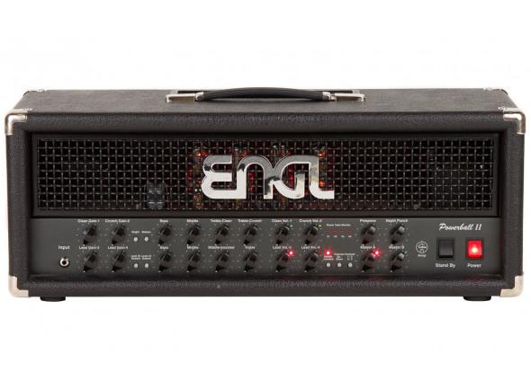 Cabeças de guitarra a válvulas Engl   Powerball II E645/2