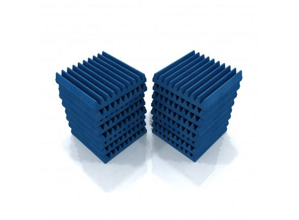 Telhas de absorção/Absorvedores standard EQ Acoustics   Classic Wedge 30cm Tile blue