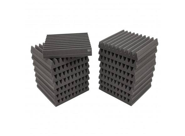 Telhas de absorção/Absorvedores standard EQ Acoustics   Classic Wedge 30cm Tile grey