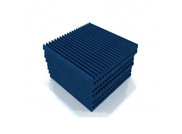 Absorvedores de espuma acústica/Absorvedores standard EQ Acoustics   Classic Wedge 60cm Tile blue