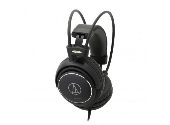Auriculares Over-Ear Fechado SonicPro Home Studio/Auscultadores de estúdio Audio Technica ATH-AVC500