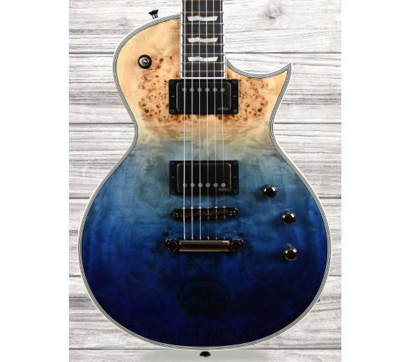 Guitarras ESP E-II Guitarras formato Single Cut ESP  E-II Eclipse BM Blue Nat Fade