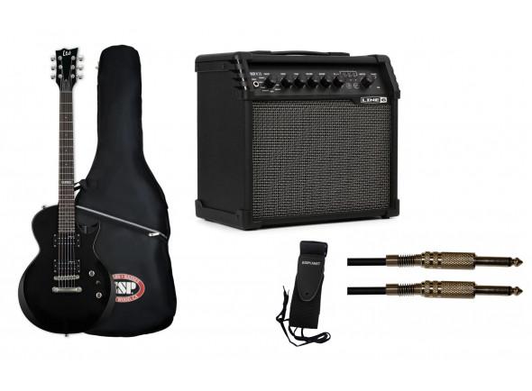 Packs de guitarra  ESP  LTD EC-10 BLK Deluxe Bundle