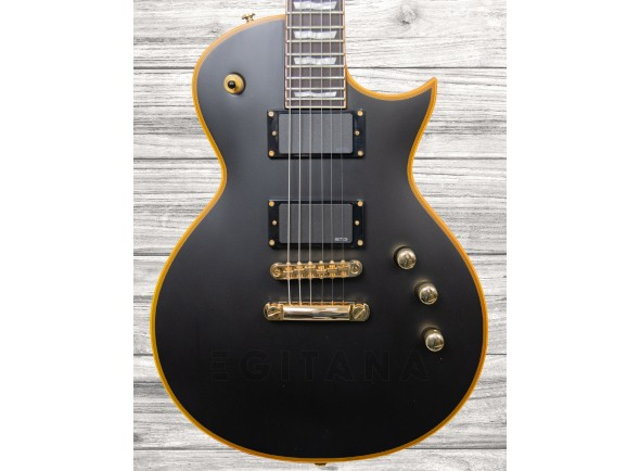 Guitarras formato Single Cut ESP LTD EC-1000 Vintage Black B-Stock