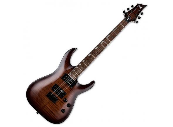 Guitarras formato ST ESP LTD H-200FM Dark Brown SB