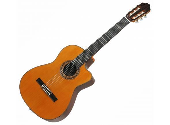 Guitarras clássicas eletrificadas Esteve 7CE  Esteve 7CE Guitarra Clássica Eletro-Acústica Tampo Sólido
