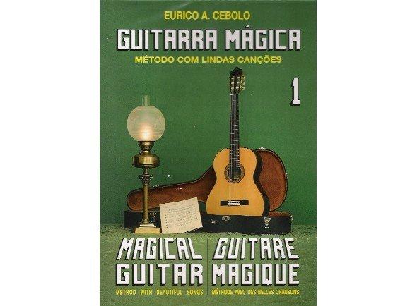 Método para aprendizagem/Livros de guitarra Eurico A. Cebolo Guitarra Mágica 1