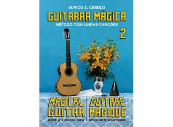 Método para aprendizagem/Livros de guitarra Eurico A. Cebolo Guitarra Mágica 2