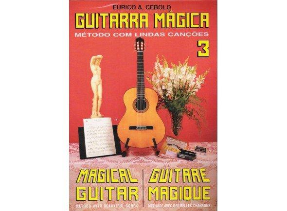 Método para aprendizagem/Livros de guitarra Eurico A. Cebolo Guitarra Mágica 3