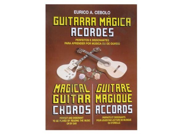 Método para aprendizagem/Livros de guitarra Eurico A. Cebolo Guitarra Mágica Acordes