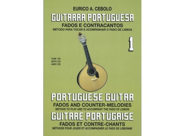Livro de canções/Livros de guitarra Eurico A. Cebolo Guitarra Portuguesa 1