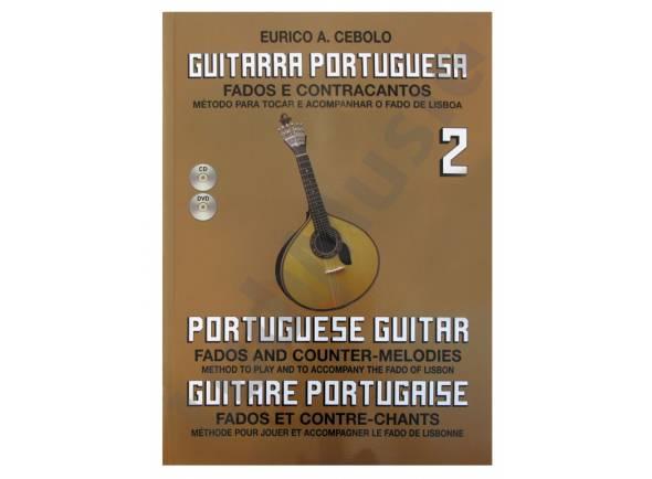 Livros de guitarra Eurico A. Cebolo Guitarra Portuguesa 2