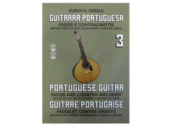 Livro de canções/Livros de guitarra Eurico A. Cebolo Guitarra Portuguesa 3