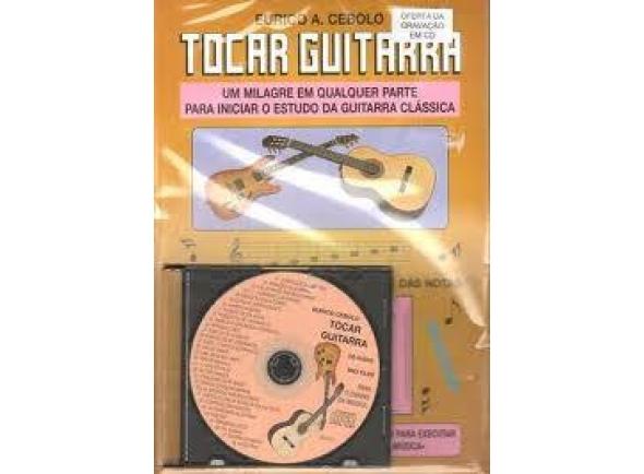 Livros de guitarra Eurico A. Cebolo METODO MAGICO TOCAR GUITARRA C/OFERTA CD