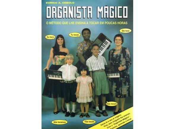 Livros de teclado Eurico A. Cebolo Método Organista Mágico