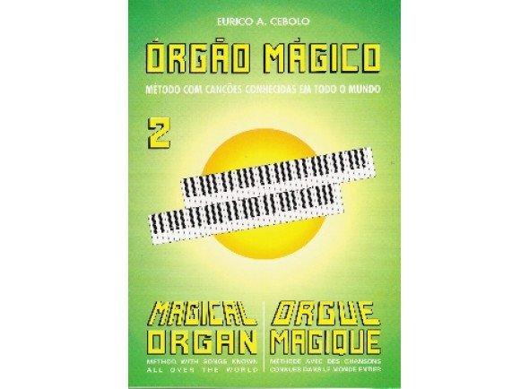 Livros de piano Eurico A. Cebolo Orgão Mágico 2