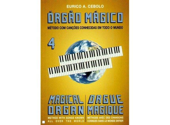 Livros de piano Eurico A. Cebolo Orgão Mágico 4