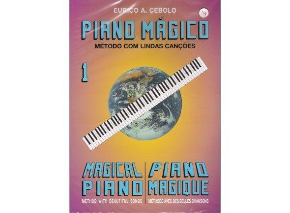 Livros de piano Eurico A. Cebolo Piano Mágico 1