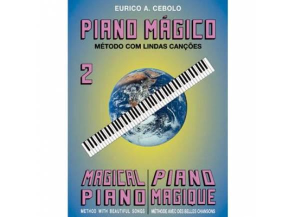 Método para aprendizagem/Livros de piano Eurico A. Cebolo Piano Mágico 2