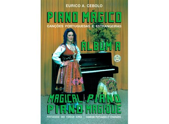 Livros de piano Eurico A. Cebolo Piano Mágico - Álbum A