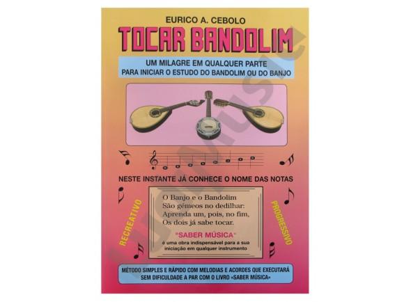 Método para aprendizagem/Livros de bandolim Eurico A. Cebolo Tocar Bandolim com CD