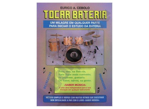 Método para aprendizagem/Livros de bateria Eurico A. Cebolo Tocar Bateria com CD
