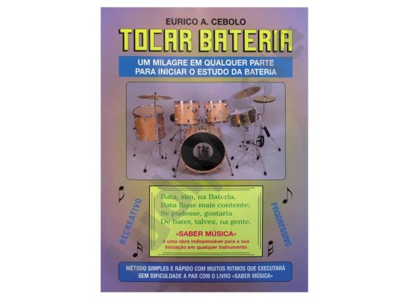 Método para aprendizagem/Livros de bateria Eurico A. Cebolo Tocar Bateria com CD B-Stock