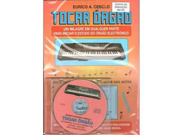 Método para aprendizagem/Livros de teclado Eurico A. Cebolo Tocar Órgão com CD