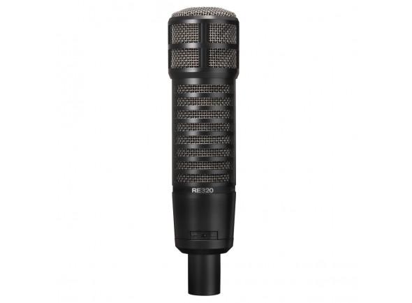 Microfone de membrana grande EV Electro Voice  RE320