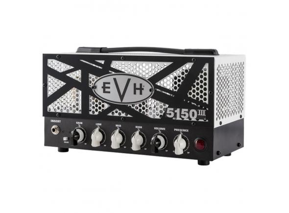 Cabeças de guitarra a válvulas Evh 5150 III 15W LBXII Top