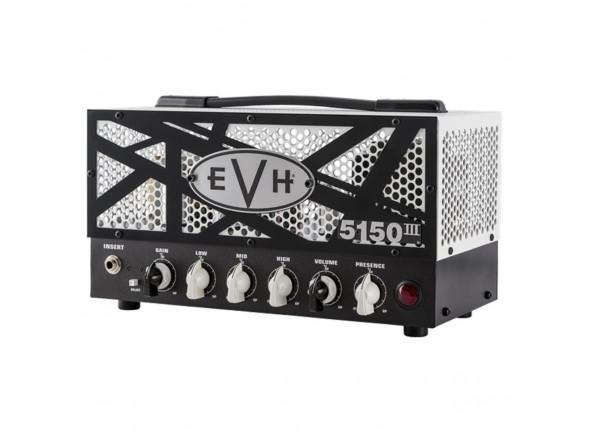 Cabeças de guitarra a válvulas EVH 5150 III 15W LBXII Top B-Stock