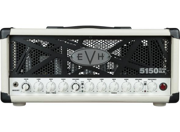 Cabeças de guitarra a válvulas EVH  5150III 50 Watt 6L6 Head Ivory