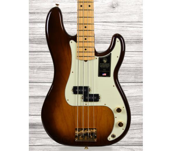 Baixo de 4 Cordas Fender 75th Anniversary Commemorative Precision Bass MN 2CB B-Stock