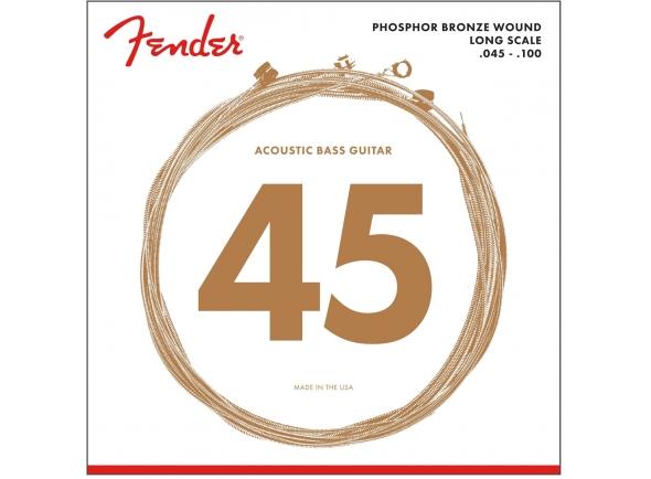 Jogos de cordas para baixo acústico Fender 8060 Phosphor Bronze Long Scale