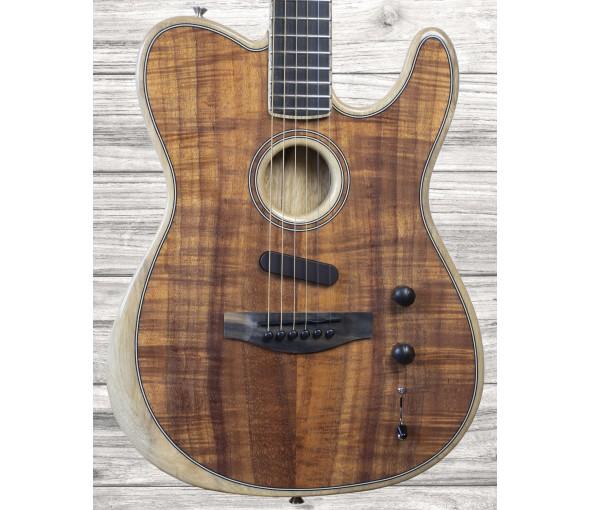 Acústica / Guitarra elétrica/Outras guitarras acústicas Fender Acoustasonic Tele Koa