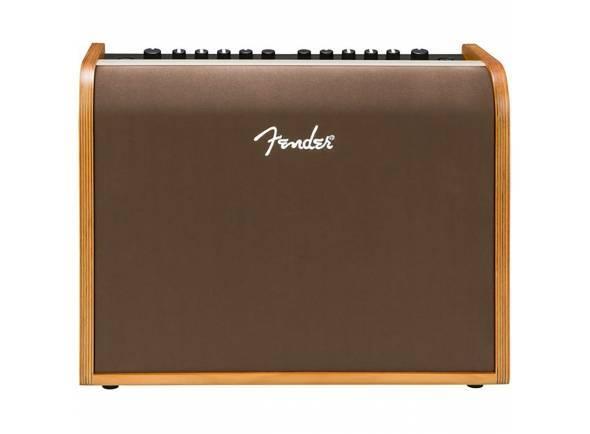 Fender ACOUSTIC 100   Potência: 100W  Dois canais - Alto-falante: 1x8 full range  Duas entradas: combo 1/4 in./XLR