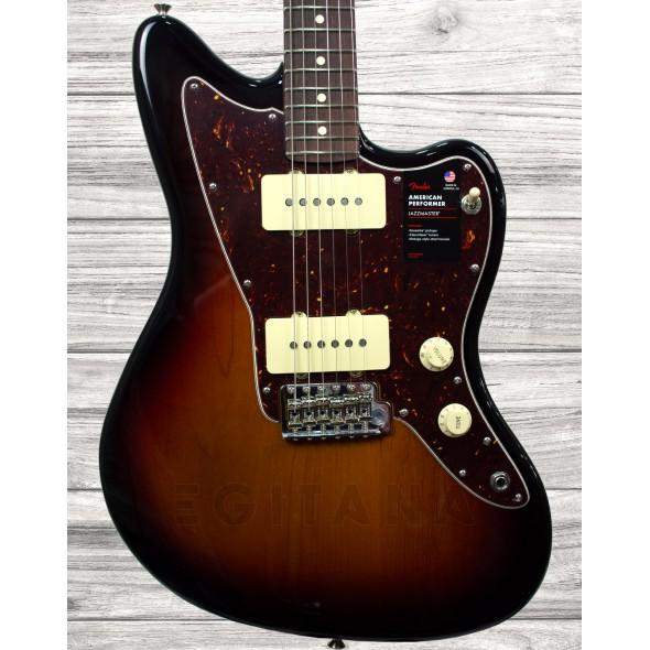 Outros formatos Fender American Perf Jazzmaster RW 3TSB