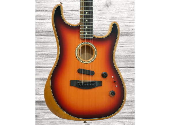 Guitarras Fender American Guitarras formato ST Fender American Acoustasonic Strat 3-SB B-Stock