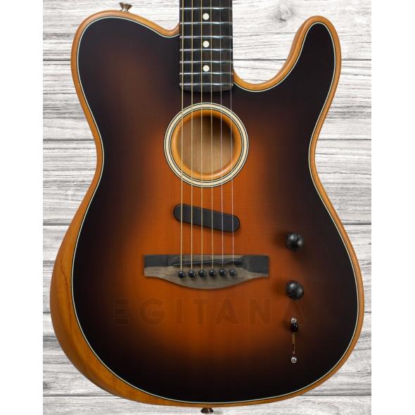 Guitarras formato T Fender American Acoustasonic Telecaster Sunburst
