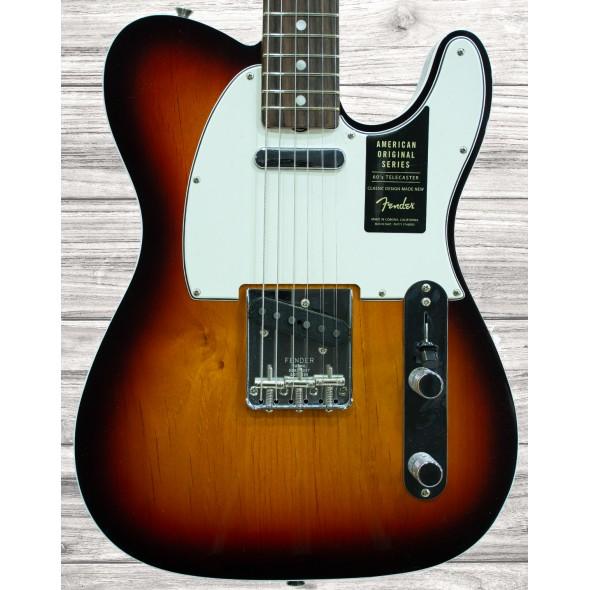 Guitarras formato T Fender American Original 60 Tele RW 3CSB
