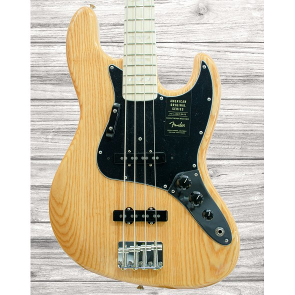Baixo de 4 Cordas Fender American Original '70s Jazz Bass MN Natural
