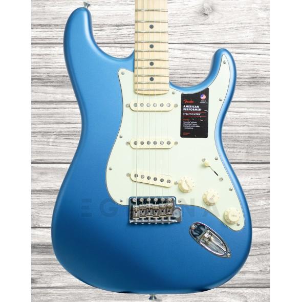 Guitarras Fender American Guitarras formato ST Fender American Perf Stratocaster MN Satin LPB