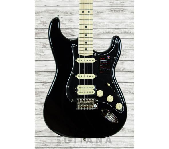 Guitarras Fender American Guitarras formato ST Fender American Perf Stratocaster HSS MN Black