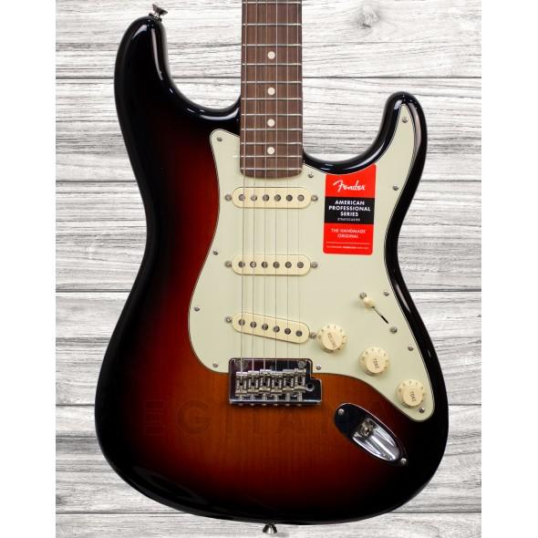 Guitarras formato ST Fender American PRO Stratocaster RW 3 Color Sunburst