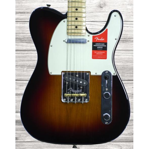 Guitarras formato T Fender American PRO Telecaster MN 3 Color Sunburst