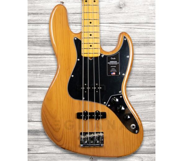 Baixo de 4 Cordas Fender American Professional II Jazz Bass MN Roasted Pine