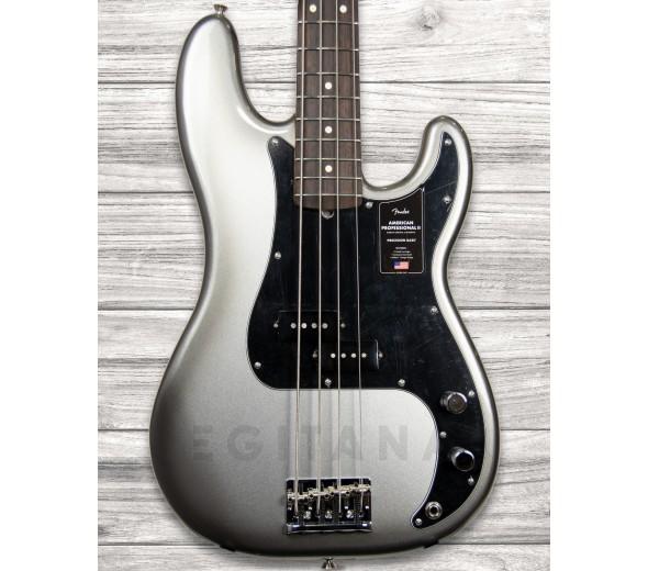 Baixo de 4 Cordas Fender American Professional II Precision Bass RW Mercury