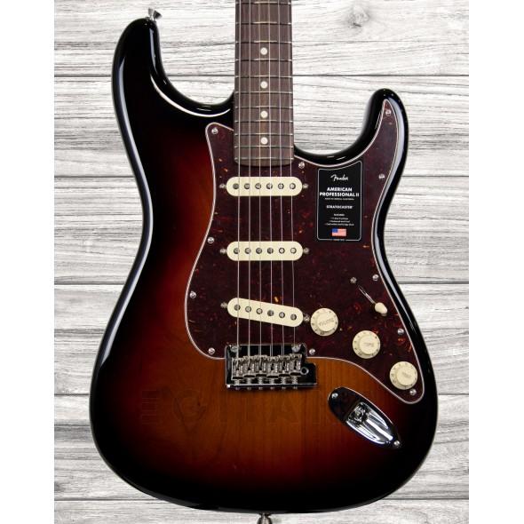 Guitarras formato ST Fender American Professional II Stratocaster RW 3-Color Sunburst