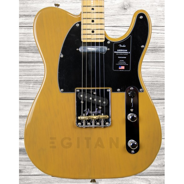 Guitarras formato T Fender American Professional II Telecaster MN Butterscotch Blonde